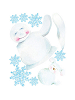 Snowman Giant Wall Decals Sheet A