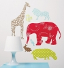 Waverly Animal Crackers Wall Art Wall Decals Room View