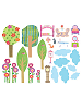 Play House Wall Play Wall Decals Sheet B