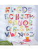 Alphabet Fun Wall Play Wall Decals Room View