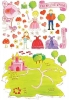 Princess Land Wall Play Wall Decals