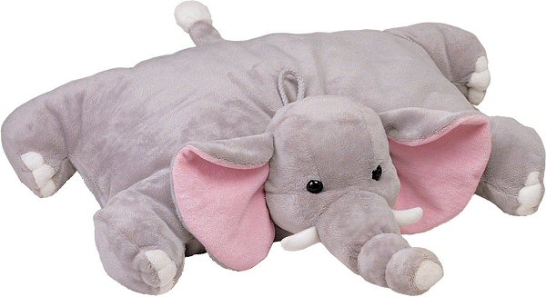 Stuffed Animal Elephant Pillow : Elephant Hugga Pet Pillow Stuffed Animal by Bestever