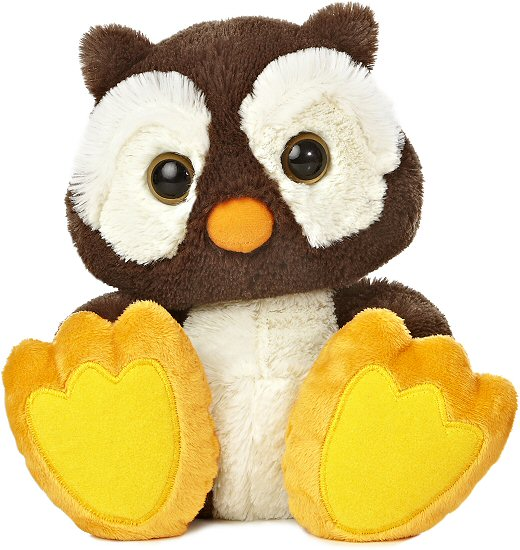 Winks Owl Taddle Toes Stuffed Animal By Aurora