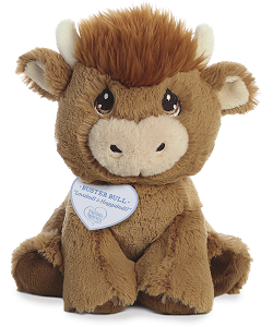 Buster Bull Precious Moments Stuffed Animal