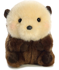 Smiles Sea Otter Rolly Pets Stuffed Animal