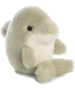Dancer Dolphin Rolly Pets Stuffed Animal