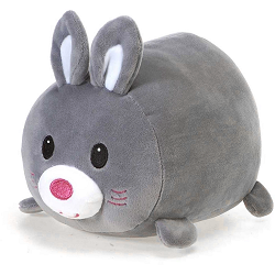 Betty Grey Bunny Lil' Huggy Stuffed Animal