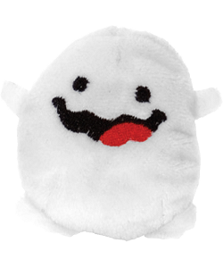 Halloween Ghost Cutie Beans Plush with Clip Case