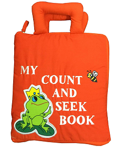 My Count and Seek Book Cloth Activity Book