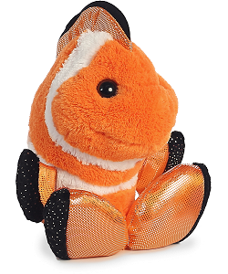 Fins Clown Fish Taddle Toes Stuffed Animal