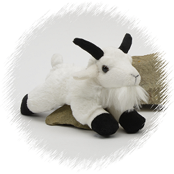 Mountain Goat Flopsies Stuffed Animal