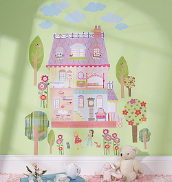 Play House Wall Play Wall Decals