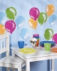 Balloons Wallies Wallpaper Cutouts in Use