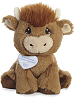 Buster Bull Precious Moments Plush Animal by Aurora