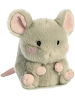 Frisk Mouse Rolly Pets Stuffed Animal by Aurora World (Rotated Slightly Right)