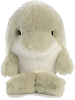 Dancer Dolphin Rolly Pets Stuffed Animal by Aurora World (Front View)