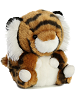 Terrific Tiger Rolly Pets Stuffed Animal by Aurora World (Rotated)