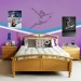 Gymnast Sudden Shadows Giant Wall Decal Room View