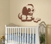 Puppy Sudden Shadows Giant Wall Decal Room View