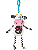 Cheery Clips Cow Backpack Clip Stuffed Animal by Mary Meyer
