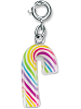 CHARM IT! Rainbow Candy Cane Charm by High IntenCity