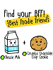 BFFs Bessie Milk Common Boxed & Crumbs Chocolate Chip Cookie Common Visible Scrumchums