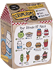 Blind Box Series One Scrumchums Plush Food Keychain by Ganz