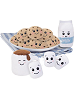 Scrumchums Plush Food Keychains with Cookie Platter