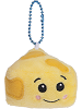 Emmie Cheese Ultra Rare Boxed Scrumchums Plush Food Keychain