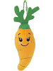 Root Carrot Common Boxed Scrumchums Plush Food Keychain