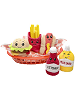 Scrumchums Plush Food Keychains in Basket
