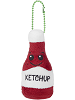 Splat Ketchup Common Boxed Scrumchums Plush Food Keychain