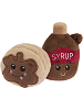 BFFs Stax Pancakes Common Boxed & Saps Maple Syrup Common Visible Scrumchums Plush Food Keychains