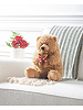 Mama Bear & Baby Stuffed Animals by Ganz (On Couch)