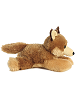 Clever Coyote Mini Flopsies Stuffed Animal by Aurora World (Side View)