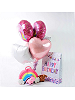 Unicorn Plushies with Rainbow Case are Great Gifts for Girls