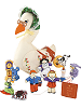Mother Goose Cloth Playset by Pockets of Learning