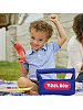 Child playing with Tool Box Cloth Playset