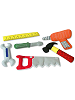 Tools from Tool Box Cloth Playset by Pockets of Learning