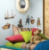 Pirates RoomMates Wall Decals Room View