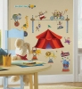 Big Top Circus RoomMates Wall Decals Room View
