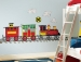 All Aboard MegaPack Wall Decals Room View