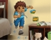 Go Diego Go RoomMates Giant Wall Decal Room View