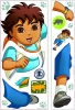 Go Diego Go RoomMates Giant Wall Decal Sheets