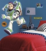 Toy Story Buzz Lightyear RoomMates Giant Wall Decal Room View