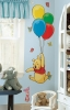 Winnie the Pooh & Piglet RoomMates Giant Wall Decals Room View
