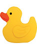 Rubber Duck (Large) Fabric Wall Art shown in #12 Yellow & #15 Orange