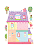 Play House Wall Play Wall Decals Sheet A