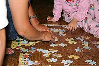 Family Puzzle Time