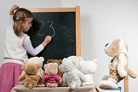 Stuffed Animals build Creative Play